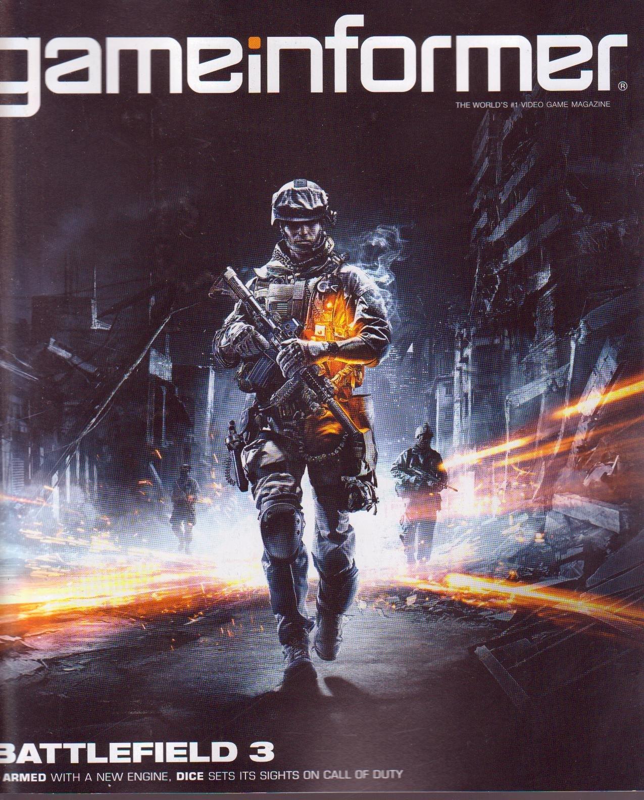 Game Informer Magazine 215 5 11 Battlefield 3 Amazon