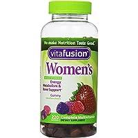Vitafusion 女士综合维生素天然浆果香味 220 片 1 220