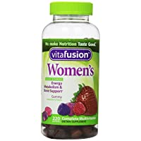 Vitafusion Womens Complete Multivitamin Natural Berry Flavors 220 Gummies