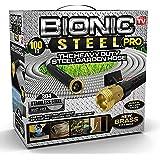 Bionic Steel PRO Garden Hose - 304 Stainless Steel Metal 100 Foot Garden Hose – Heavy Duty Lightweight, Kink-Free, and…