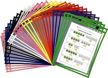 30 Dry Erase Pockets