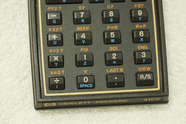 Amazon.com : Hewlett Packard 41CV calculator : Scientific Calculators :  Electronics