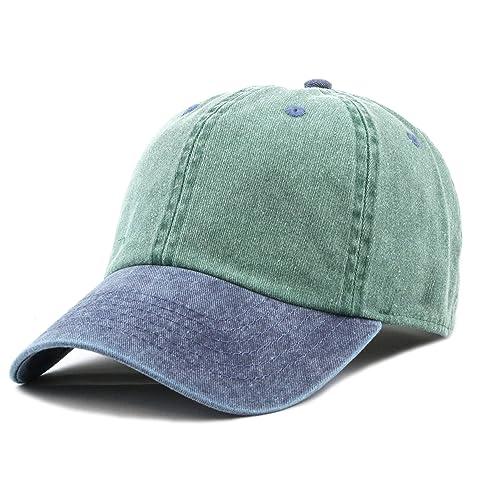 9289528050 The Hat Depot 100% Cotton Pigment Dyed Low Profile Dad Hat Six Panel Cap