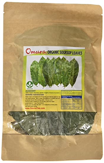 amazon com omura organic soursop guanabana graviola for tea 200 rh amazon com