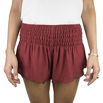 Para estrenar d854e ae47e Natural Healing Co. Pantalones Cortos de Playa para Mujer ...