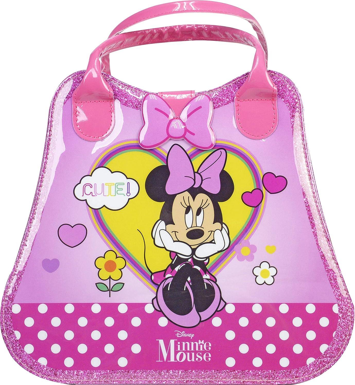 Minnie Mouse Weekender-Neceser, Set Niñas Minnie-Selección de Productos Seguros en un Maletín de Maquillaje, Color Rosa (Markwins Beauty Brands 1599048E): Amazon.es: Juguetes y juegos