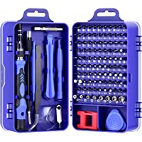 DAZAKA Juego de Destornilladores de Precisión Profesional 115 en 1 Kit de Herramientas de Reparación de Bricolaje para…