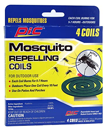 Pic Mosquito Repellent Coils (4 Pack)