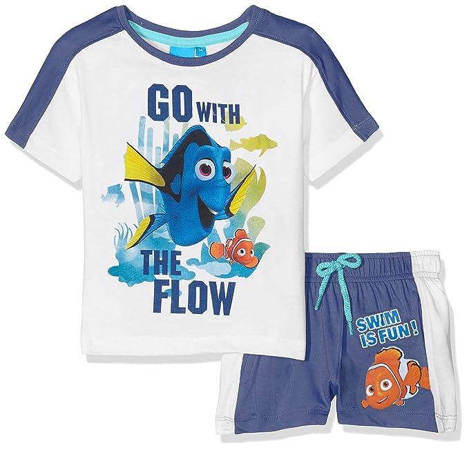 Disney Nemo, Ropa Interior de Deporte para Niños, Azul Blue, 3-4