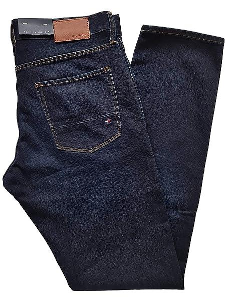 """110c8073 Tommy Hilfiger Jeans Bleecker Slim Fit Dark Rinse Mens Waist 32"""" ..."""