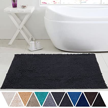 Soft Absorbent Microfiber Chenille Dog Pet Bath Floor Door Mat New Colors Sizes