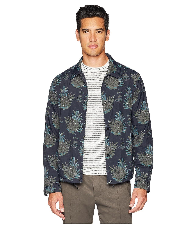 [ヴィンス] メンズ コート Tropical Print Coaches Jacket [並行輸入品] B07DV758LD Medium