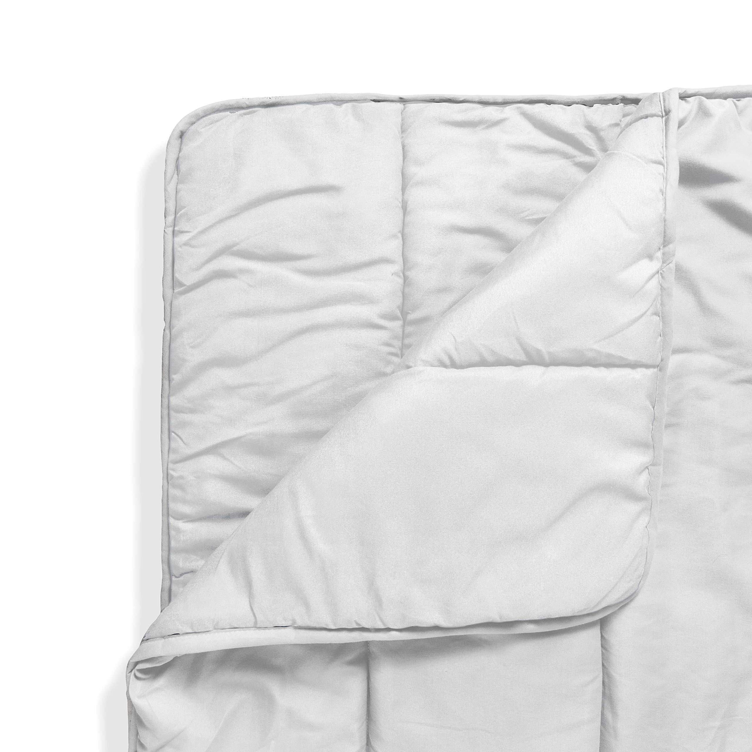ViscoSoft - Reversible Down Alternative Comforter - Ultra Soft & Comfortable - Premium Microfiber Fill Never Clumps or Shifts - Hypoallergenic, Machine Washable - (White) (Twin)