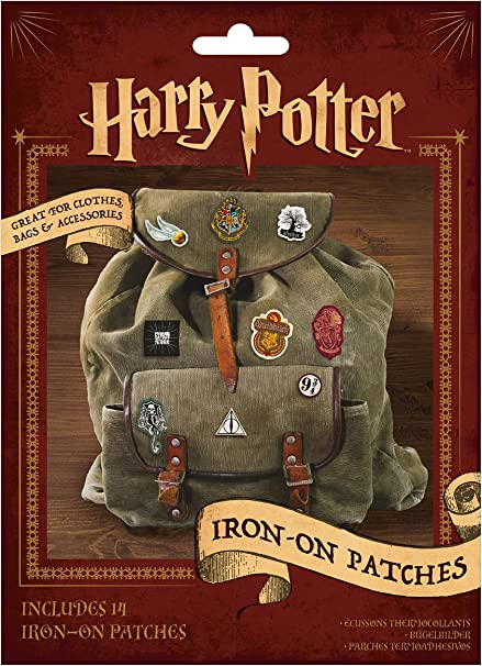 14 In Pack Harry Potter Iron On Badges