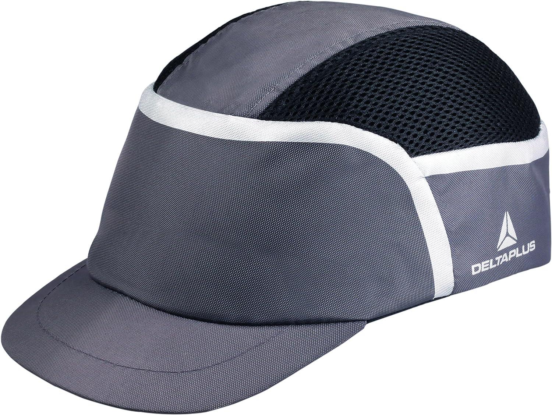 Deltaplus kaizigr/ /Casquette antichoc ventil/ée Polyester//coton