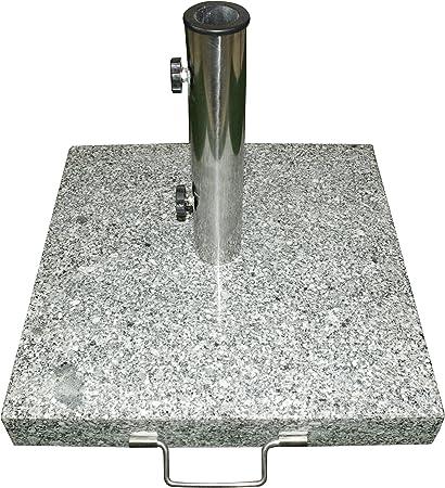 Amazon.de: Schirmständer 25kg Granit/Edelstahl