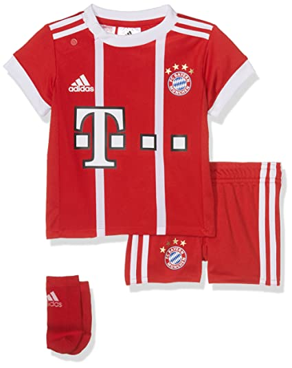 c48b1649e796a5 adidas Kinder Fc Bayern Heim Kit Trikot Und Shorts  Amazon.de  Sport ...