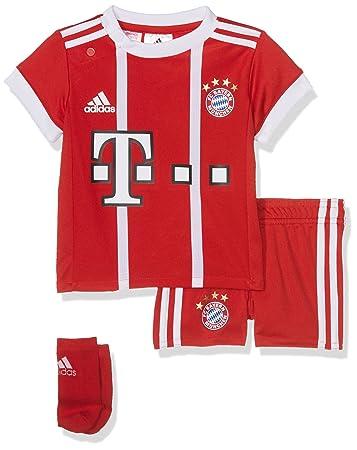 adidas Kinder FC Bayern Heim Kit Trikot Und Shorts  Amazon.de  Sport ... 69074ef745