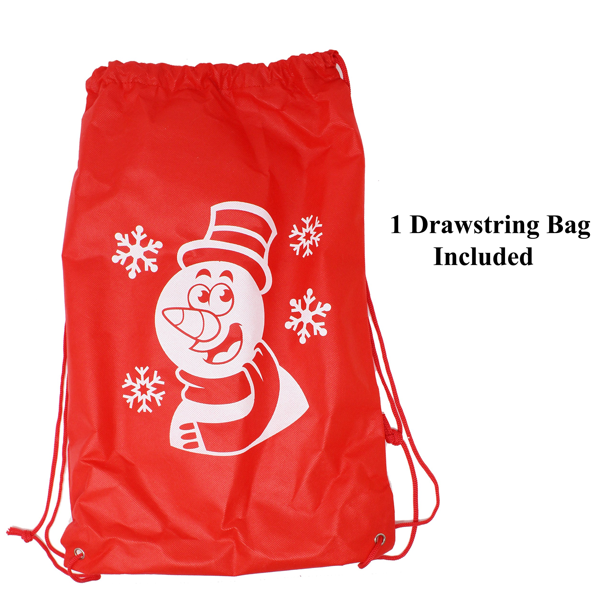 Joyin Toy Snowball Maker Snow Toys for Kids Red Yellow & Blue with Bonus Tote Bag - 3 Pack by Joyin Toy (Image #3)