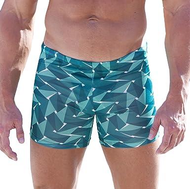 f92023cc15 Amazon.com: Cooltan Men's Sun Through Sport Shorts Jammers Emerald ...