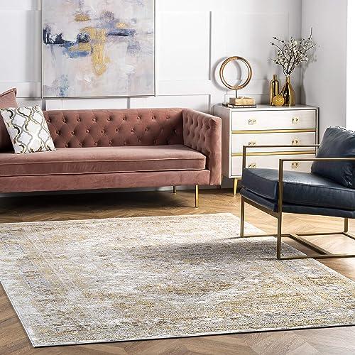 nuLOOM Shaunte Vintage Speckled Area Rug - the best living room rug for the money
