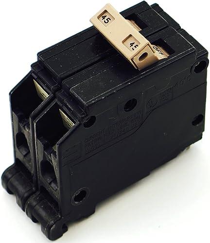 CH245 CH PLUG IN 2P 45A CIRCUIT BREAKER
