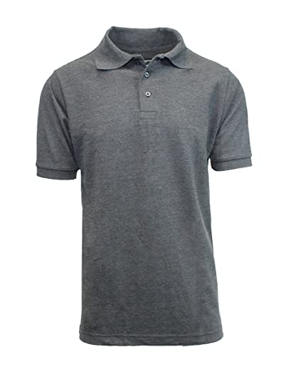 b9f74f2832 Galaxy by Harvic Men s Heathered Pique Polos at Amazon Men s Clothing store