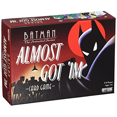 Cryptozoic Entertainment Batman Almost Got Im Card Game (8 Player): Toys & Games