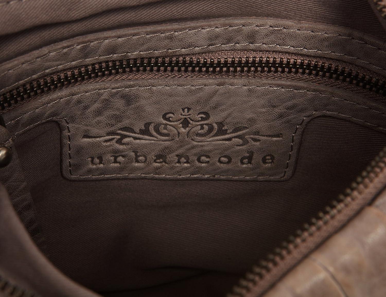 Urbankod, dam axelväska grå jeansblå