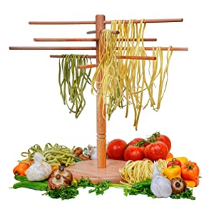 DB-Tech Wooden Pasta Drying Rack