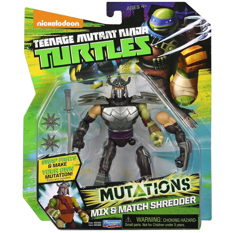 Amazon.com: Teenage Mutant Ninja Turtles Mix U0026 Match Shredder Figure Action  Figure: Toys U0026 Games