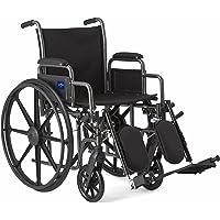 Medline K1 Basic Elevating Wheelchairs, RDLA, 18 Inch