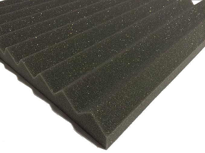 Advanced acoustics piastrelle isolanti in schiuma 38 cm i