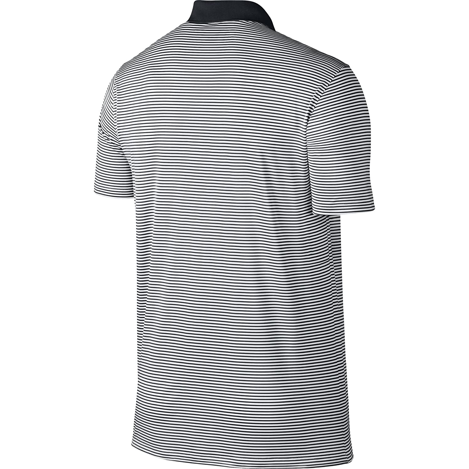1d15908e4 Nike Men's Dry Victory Stripe Polo, Black/White, X-Large: Amazon.in:  Sports, Fitness & Outdoors