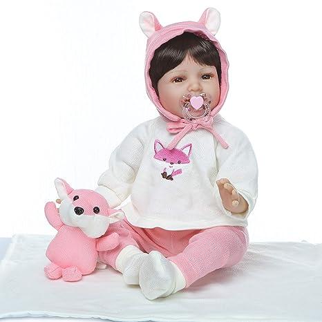 Amazon.es: ZIYIUI Reborn Muñecas de bebé 55cm 22 Pulgadas Reales ...