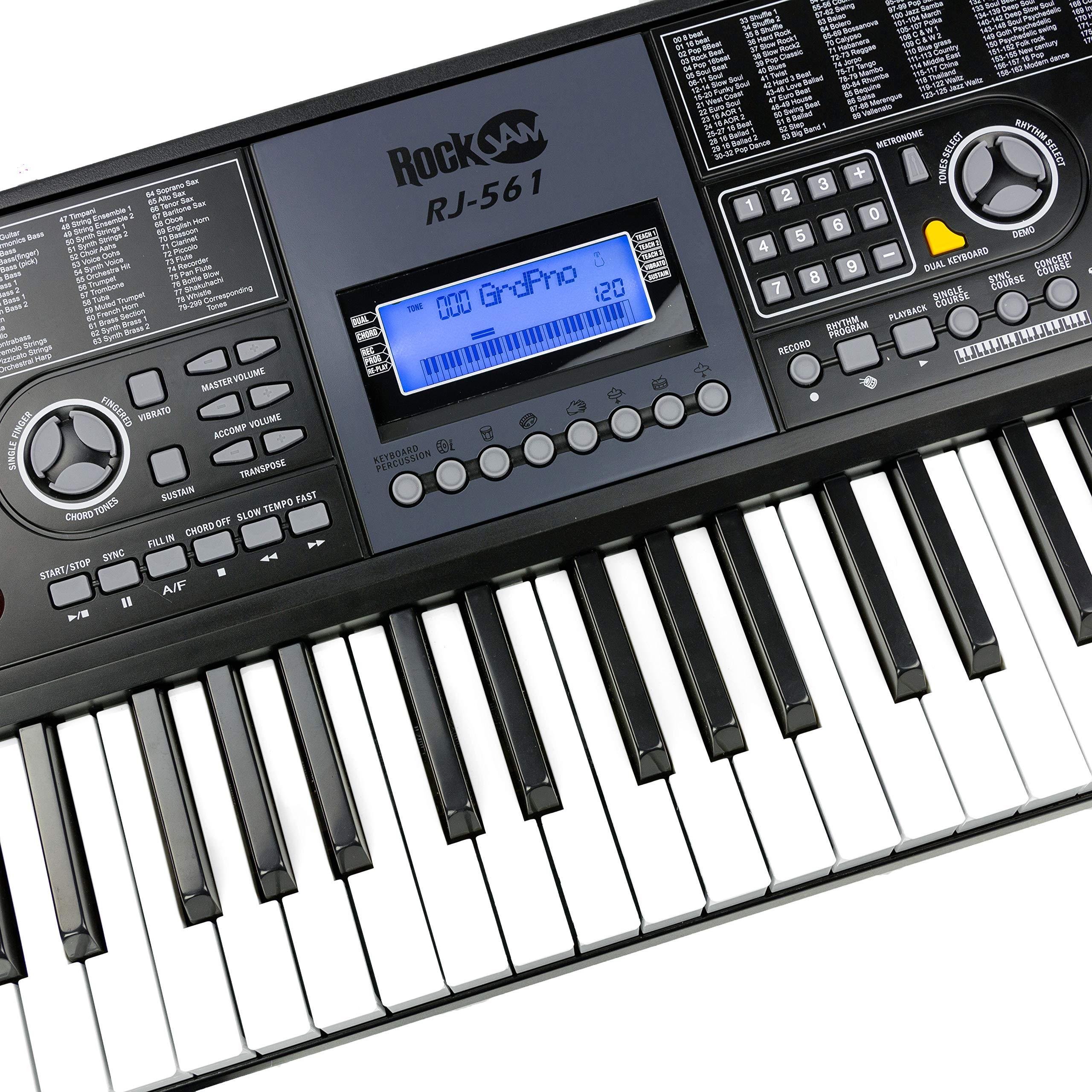 Amazon com: RockJam: Keyboard Pianos