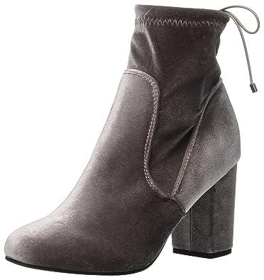 Vero Moda - Damen - Suede boot - Stiefeletten & Boots - braun
