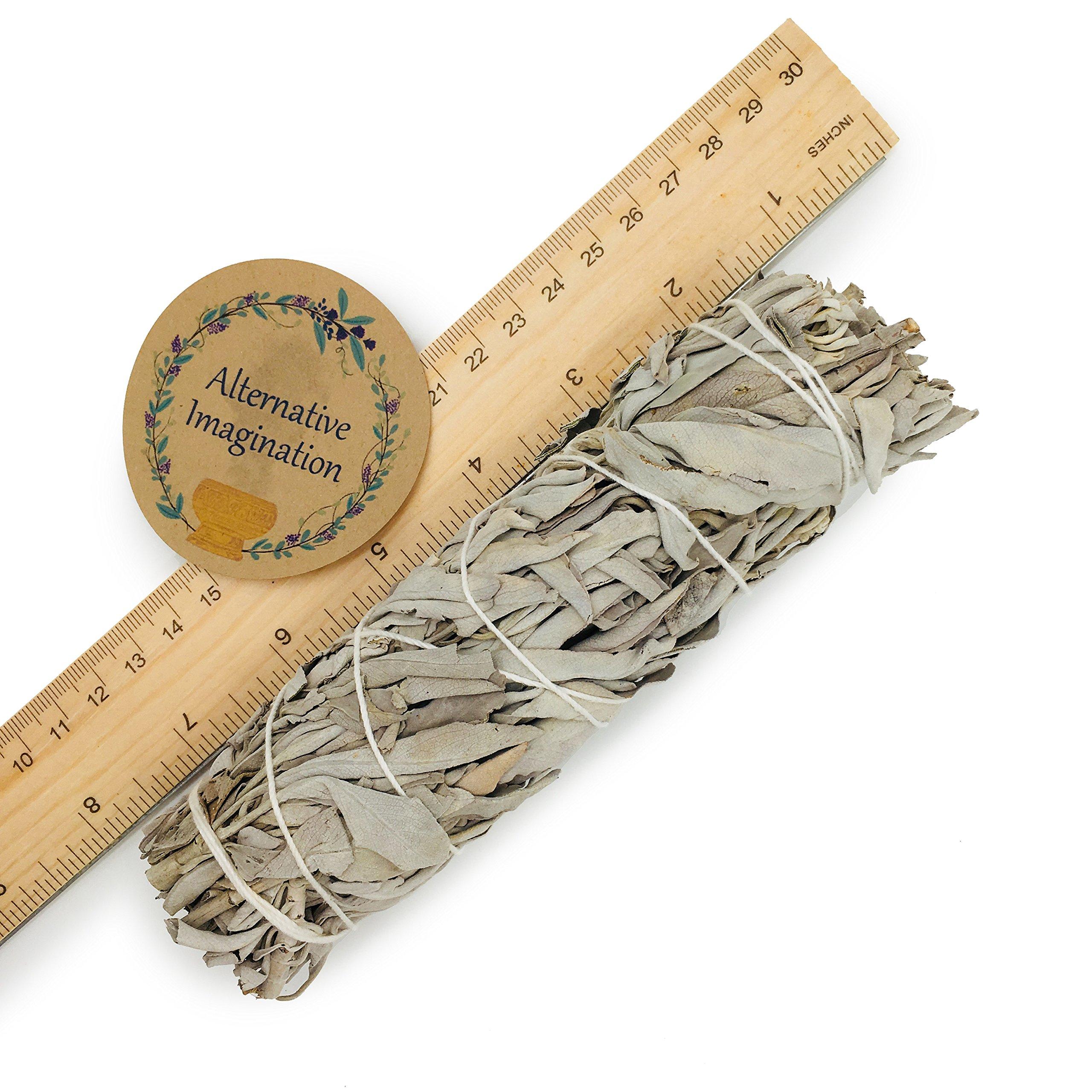 Alternative Imagination Premium California White Sage Smudge Sticks - 5 Inch Medium Sized - Package of 3 by Alternative Imagination (Image #5)
