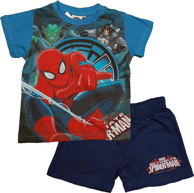 Marvel - Pijama dos piezas - para niño Azul azul