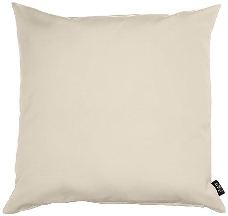 Apelt Kissenhülle 4362 Farbe 20 Modisch Und Zeitloser Kissenbezug Hochwertige Und Schicke Unifarbene Zierkissenhülle In Creme Größe 49x49 Cm