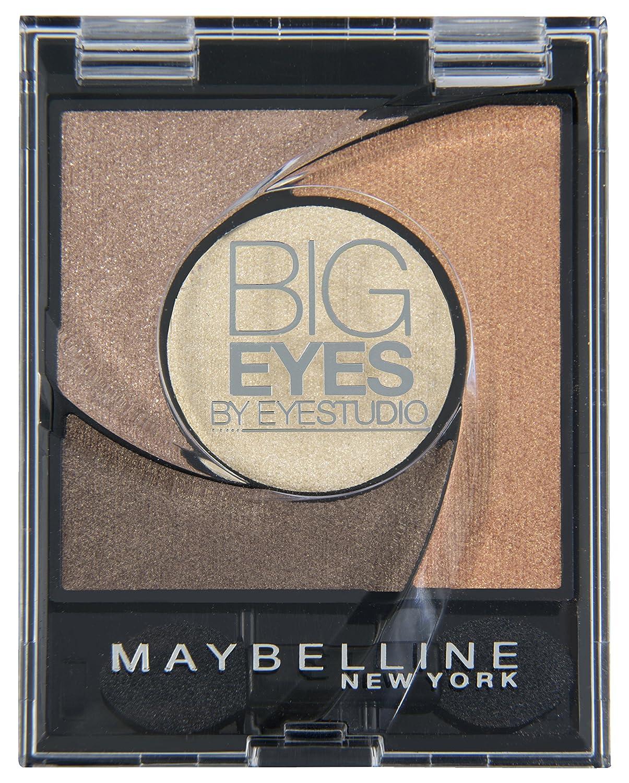 Maybelline Big Eyes Eyeshadow Palette 01 Luminous Brown 5g L' Oreal 3600530833108