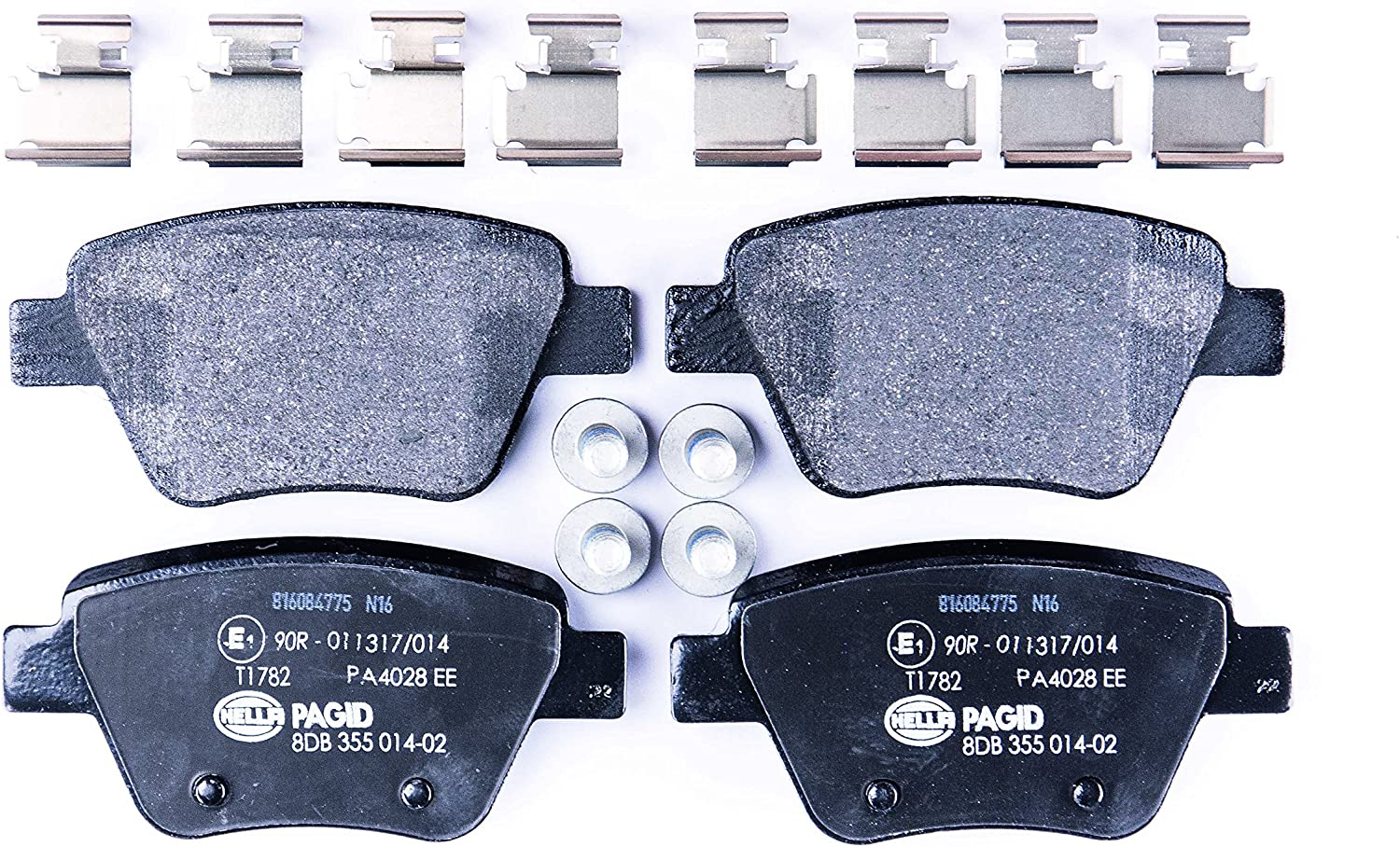 For Audi A4 A6 Volkswagen Passat Front /& Rear Disc Brake Pad Kit Pagid