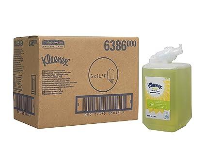 KLEENEX* FRESH Gel de Manos en Espuma (código 6386) 6 estuches, 1
