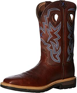 80d09bf10c6 Amazon.com | Twisted X Boots Men's MRS0045 Ruffstock Cowboy Boot ...