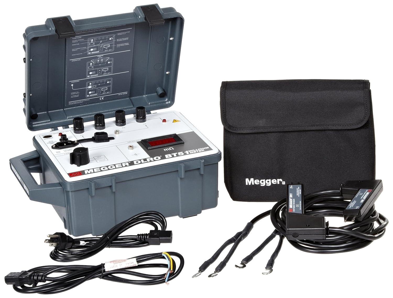 Megger Bt51 120 Digital Low Resistance Ohmmeter Santronics Ac Dc Voltage Detectors Quickly Test For Energized Circuits Industrial Scientific