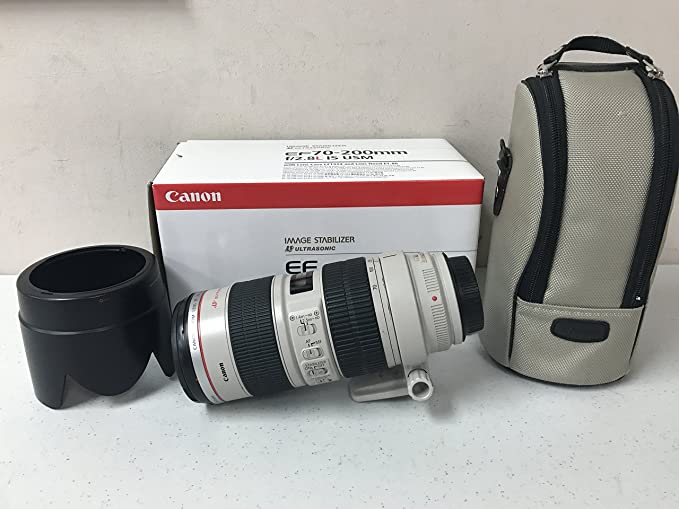 Canon Ef 70 200mm 2 8 L Is Usm Objektiv Kamera