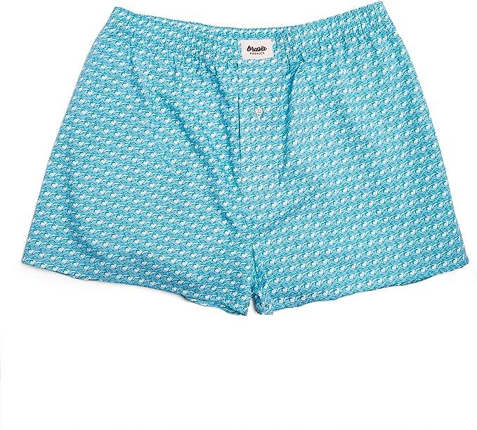 Brava Fabrics | Calzoncillos Azules Boxer para Hombre ...