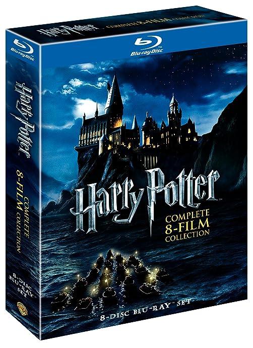 Harry Potter 《哈里波特》8部蓝光电影合集 18年版 2.7折$27.49史低 海淘转运到手约¥313