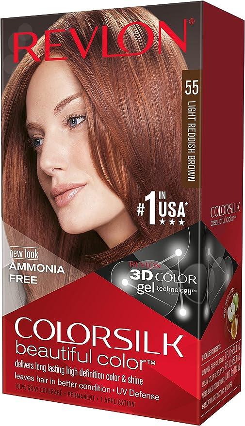 Revlon Colorsilk - Tinte, color 55-rojizo claro, 200 gr
