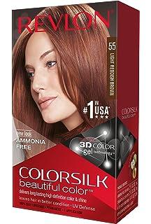 revlon colorsilk coloration des cheveux n55 light reddish brown 591 ml - Coloration Cheveux Revlon